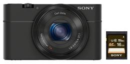 Bild zu SONY Cyber-Shot DSC-RX100 Digitalkamera (20.2 Megapixel) + 16GB Speicherkarte für 266€ (Vergleich: 311,50€)