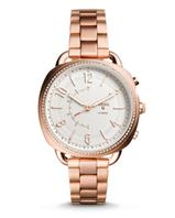 Bild zu Fossil Hybrid Smartwatch FTW1208P Stainless Steel roségold für 59,50€ (Vergleich: 129€)