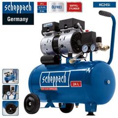 Bild zu Scheppach HC24Si Flüsterkompressor (24L, 8bar, 60dB) für 149,95€ (Vergleich: 176,90€)
