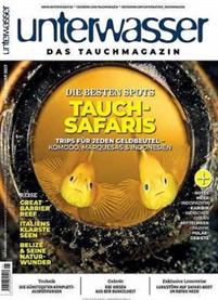 """Bild zu [Super] Jahresabo (12 Ausgaben) der Zeitschrift """"Unterwasser"""" ab 82,60€ + bis zu 85€ als Prämie"""
