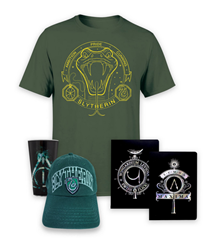 Bild zu Harry Potter Mega Paket (Glas, Notizbuchset, T-Shirt, Cap) für je 17,23€