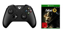 Bild zu Xbox One Wireless Controller + Fallout 76 für 59,99€ (Vergleich: 72,94€)