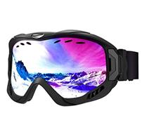 Bild zu Mpow Skibrille für Damen und Herren (400 UV-Schutz, Anti-Fog, verbesserte Belüftung) für 14,95€