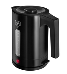 Bild zu Melitta 1016-02 Easy Aqua Wasserkocher 1,7 Liter Schwarz für 14,90€ (Vergleich: 23,48€)
