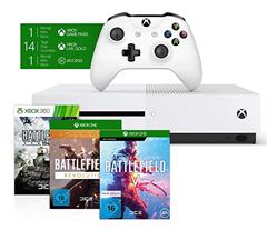 Bild zu Xbox One S 1TB + Battlefield V Deluxe + Battlefield 1 Revolution + Battlefield 1943 für 193,99€ (Vergleich: 229€)
