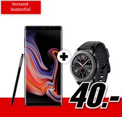Bild zu Samsung Galaxy Note 9 + Gear S3 Frontier (einmalig 40€) inkl. Vodafone Comfort Allnet (4GB Datenvolumen, Allnet-Flat) für 31,99€/Monat