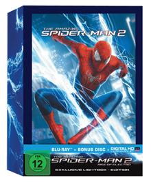 Bild zu The Amazing Spider-Man 2 – Rise of Electro (Lightbox) [Blu-ray] für 15,99€ (Vergleich: 32,90€)