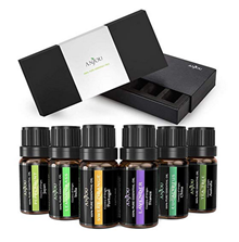 Bild zu Anjou Ätherische Öle Set 6 x 10 ml (Lavendel, Teebaum, Eukalyptus, Zitronengras, Orange, Pfefferminze) für 6,99€