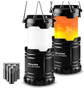Bild zu Morpilot faltbare Camping Laterne (2 Stück, 300lm, 2 Lichtmodi) für 9,99€