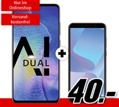 Bild zu Huawei Mate20 & Y6 2018 für 40€ mit 2GB Datenflat und Allnet Flat im Vodafone-Netz für 26,99€ im Monat