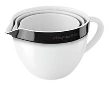 Bild zu KitchenAid Keramikschüssel-Set 3-teilig Onyx Schwarz für 54,99€ (Vergleich: 73,98€)
