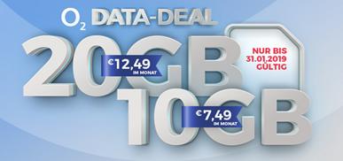 Bild zu [Knaller] o2 Free Datenkarten: 10GB LTE Datenflat für 7,49€/Monat oder 20GB für 12,49€/Monat – nach Verbrauch mit 1Mbit/s weitersurfen