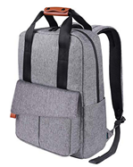 Bild zu REYLEO Reise Laptop Tasche (15.6 Zoll, wasserabweisend, grau, 24L) für 10,99€