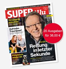 """Bild zu 20 Ausgaben der Zeitschrift """"SUPERillu"""" für 38€ + 35€ Verrechnungsscheck"""