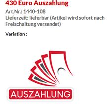Bild zu [Top] Vodafone DataGo L mit 12 GB LTE Datenflat + 430€ Auszahlung für 27,49€/Monat (=rechnerisch 9,57€/Monat)