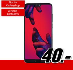 Bild zu HUAWEI P20 Pro (einmalig 40€) inkl. Vodafone Flat Allnet Comfort (1GB Datenvolumen, Allnet-Flat) für 21,99€/Monat