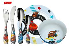 Bild zu WMF Kinderbesteck Set 6-teilig Disney Cars 2 für 19€ (Vergleich: 32,50€)