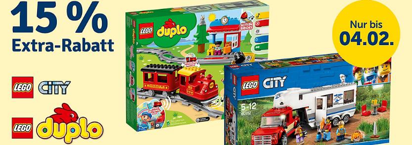 Bild zu MyToys: 15% Rabatt auf LEGO City & LEGO Duplo