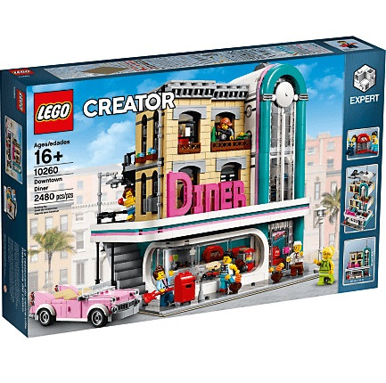 Bild zu Lego Creator Amerikanisches Diner (10260) für 129,99€ (Vergleich: 149,99€)