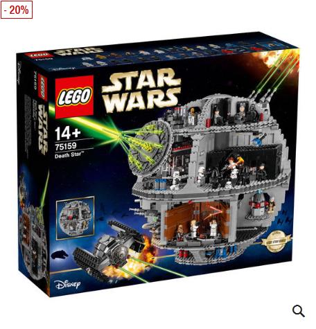 Bild zu Lego Star Wars Todesstern 75159 für 382,49€ inkl. Versand (Vergleich: 445€)