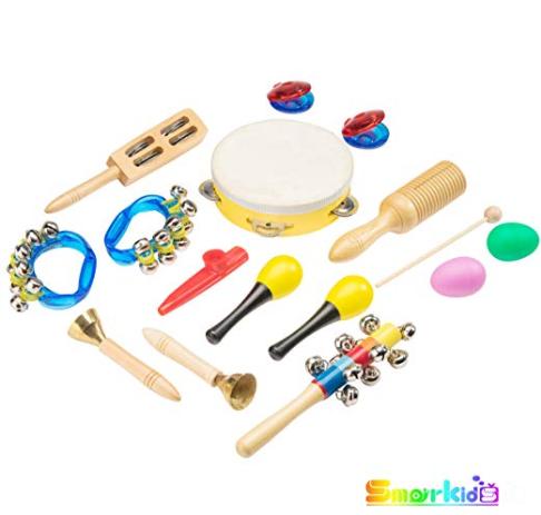 Bild zu Smarkids Musikinstrumente Set (15 Instrumente) für Kinder für 20,29€