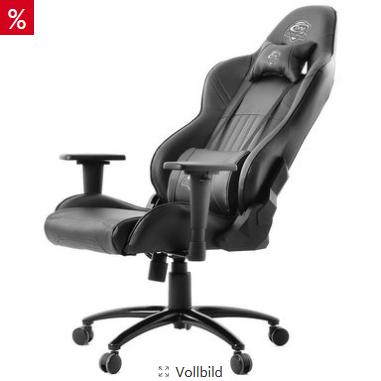 Bild zu ONE GAMING Chair Pro BLACK 35044 für 175,94€ inkl. Versand (Vergleich: 207,98€)