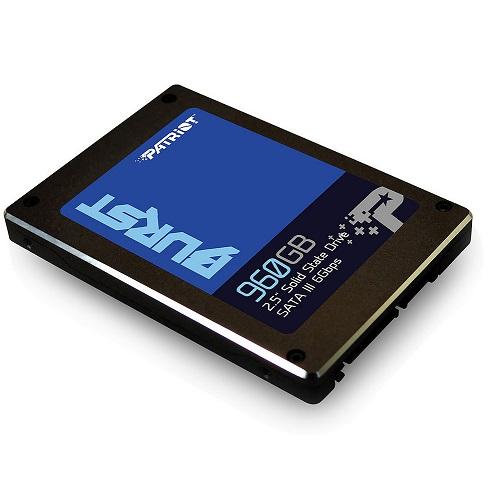 Bild zu 960 GB interne 2,5 Zoll SSD Patriot Burst für 105,90€ (Vergleich: 118,74€)
