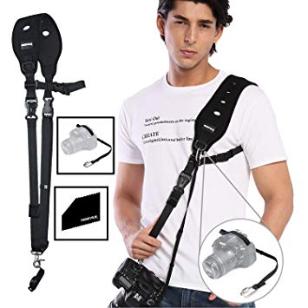 Bild zu Prowithlin Schultergurt für Kameras für 15,96€