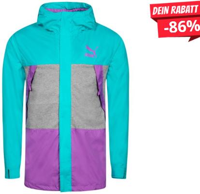 Bild zu SportSpar: PUMA Herren Retro Edition Windbreaker Jacke für 16,07€ inkl. Versand (Vergleich: 20€)