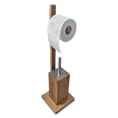 sanwood wc garnitur aus bambus holz edelstahl f r 14 99 inkl versand vergleich 24 85. Black Bedroom Furniture Sets. Home Design Ideas