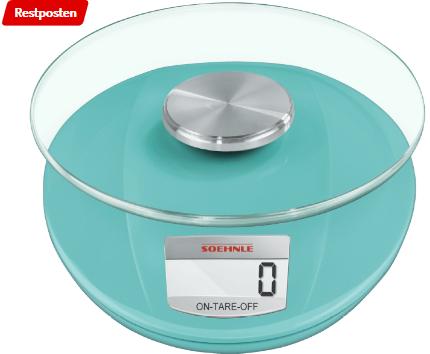 Bild zu SOEHNLE 65859 Küchenwaage (Max. Tragkraft: 5 kg, Standwaage) für 14€ inkl. Versand (Vergleich: 21,14€)