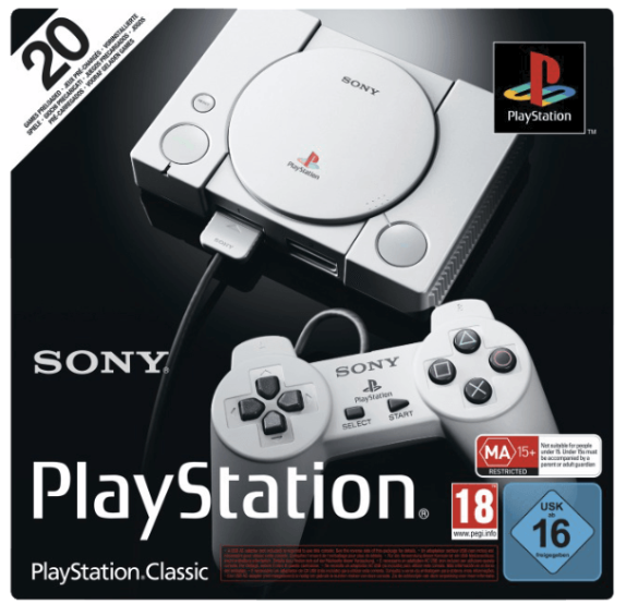 Bild zu SONY PlayStation Classic für 59€ inkl. Versand (Vergleich: 67,39€)