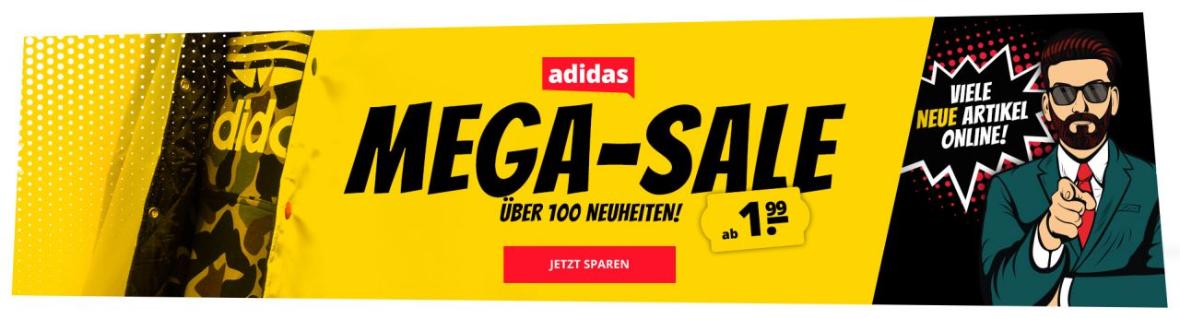 Bild zu SportSpar – adidas Mega Sale mit bis zu 80% Rabatt – über 150 neue Artikel