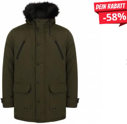 Bild zu Tokyo Laundry Lenart Fur Trim Hooded Winterjacke für 28,94€ inkl. Versand (Vergleich: 32,38€)