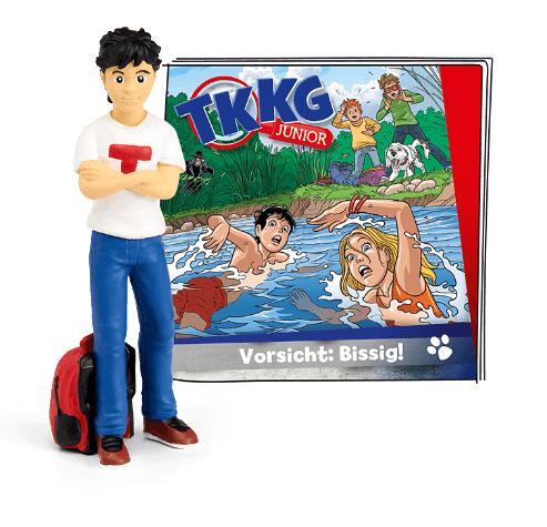 Bild zu Tonie Hörfigur: TKKG Junior Folge 2 Vorsicht: Bissig! für 11,99€ (Vergleich: 15,93€)