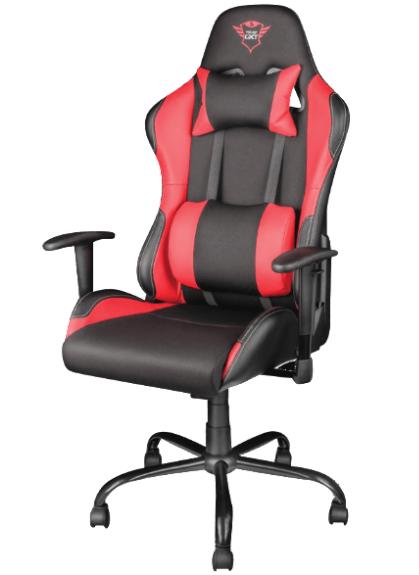 Bild zu TRUST GXT 707R Gaming Stuhl (Schwarz/Rot, bis 150 kg) für 159€ inkl. Versand (Vergleich: 199€)