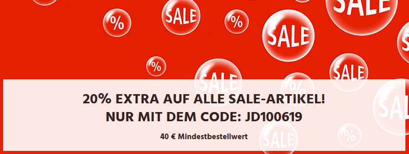 Bild zu Jeans Direct: Bis zu 70% Rabatt im Sale + 20% Extra-Rabatt durch Gutscheincode