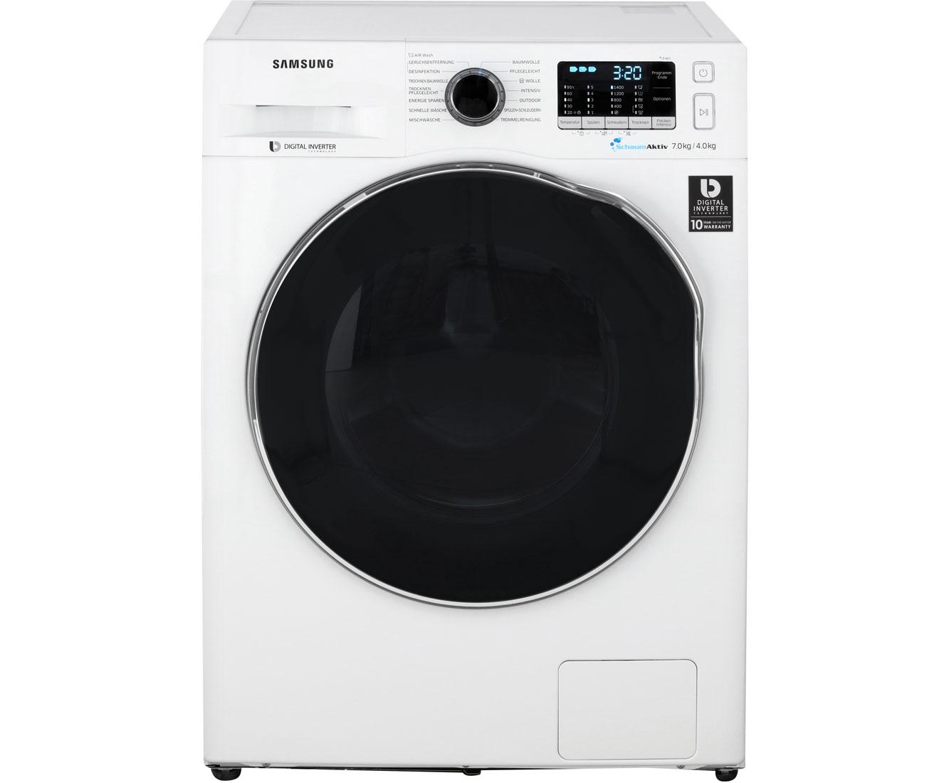 Bild zu Waschtrockner Samsung WD72J5A00AW/EG für 499€ (Vergleich: 550,28€)