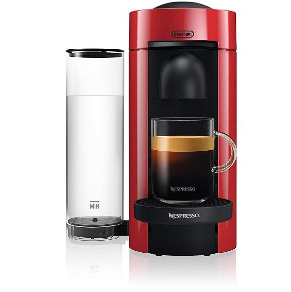 Bild zu DeLonghi ENV 150.R Nespresso Vertuo Kaffeekapselmaschine für 64,90€ (Vergleich: 84,99€)