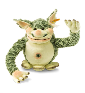 Bild zu Steiff Plüsch-Monster Edric für 32,24€ inkl. Versand (Vergleich: 54,94€)