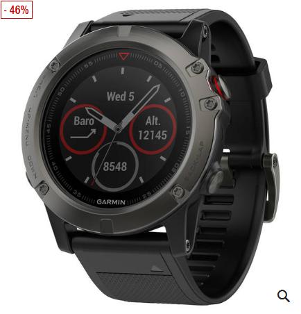 Bild zu GARMIN fenix 5X Saphir Smartwatch für 399,99€ inkl. Versand (Vergleich: 489€)