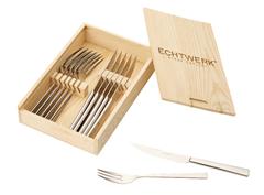 Bild zu ECHTWERK EW-SB-0560 Sarre 12-teiliges Steakbesteck-Set für 20€ (Vergleich: 37,99€)