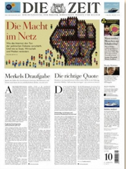 """Bild zu Schnupperabo für 3 Monate (13 Ausgaben) """"Die Zeit"""" für 65€ inkl. 65€ Scheck als Prämie – Kündigung notwendig"""