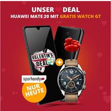 Bild zu Huawei Mate 20 für 4,95€ + gratis Huawei Watch GT + otelo Comfort LTE 50 im Vodafone Netz (6 GB mit 50 MBit/s LTE) für 29,99€/Monat