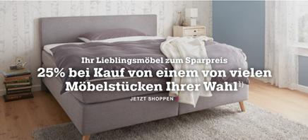 Bild zu Mömax: 25% Rabatt auf ein Möbelstück eurer Wahl