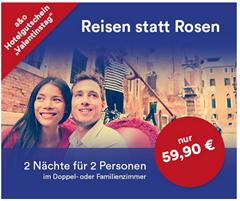 Bild zu 2 Übernachtungen für 2 Personen (+ 2 Kinder) in einem A&O Hotel für 59,90€