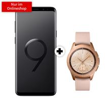 Bild zu Samsung Galaxy S9+ Dual-SIM + Samsung Galaxy Watch 42mm LTE (einmalig 49€) inkl. Vodafone Comfort Allnet (4GB Datenvolumen, Allnet-Flat) für 31,99€/Monat