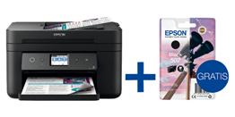 Bild zu Epson WorkForce WF-2860DWF Multifunktionsdrucker + Epson Tintenpatrone für 79€ (Vergleich: 102,28€)