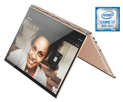 Bild zu LENOVO Yoga 920 Convertible (Intel®Core™ i7, 512 GB SSD, 8 GB RAM, Copper) für 1.399€ (Vergleich: 1.699€)