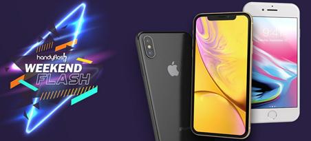 Bild zu Handyflash Weekend iPhone Angebote, so z.B. Apple iPhone 8 für 4,95€ + GRATIS JBL Free X Bluetooth Kopfhörer mit Vodafone Allnet Flat, SMS Flat und 7GB Datenfllat für 36,99€/Monat